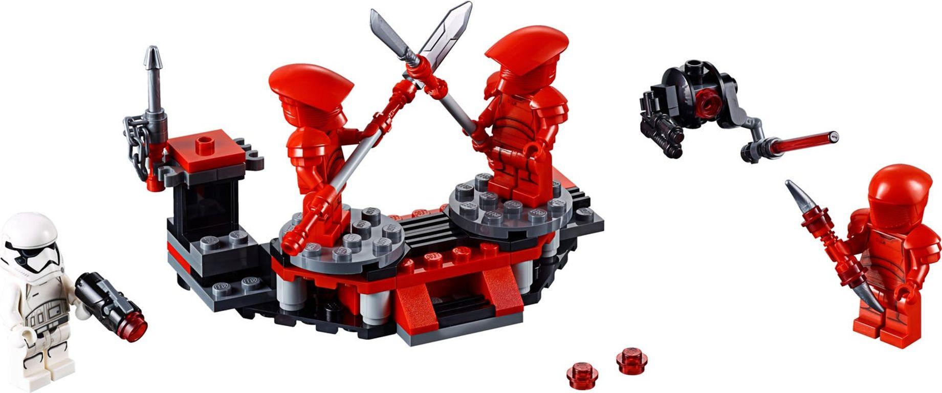 LEGO® Star Wars Elite Praetorian Guard™ Battle Pack components
