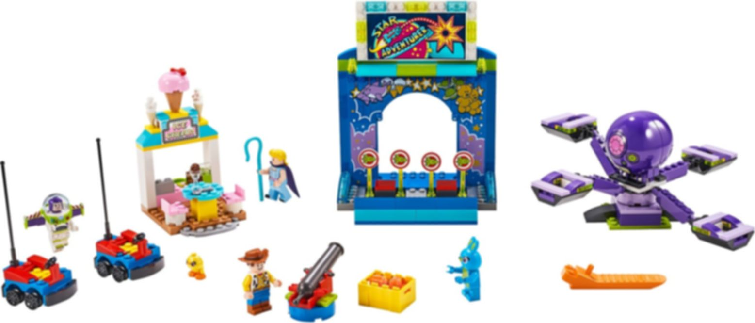 Buzz & Woody's Carnival Mania! components