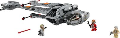 LEGO® Star Wars B-Wing components