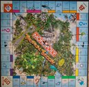 Monopoly: Tropical Tycoon game board