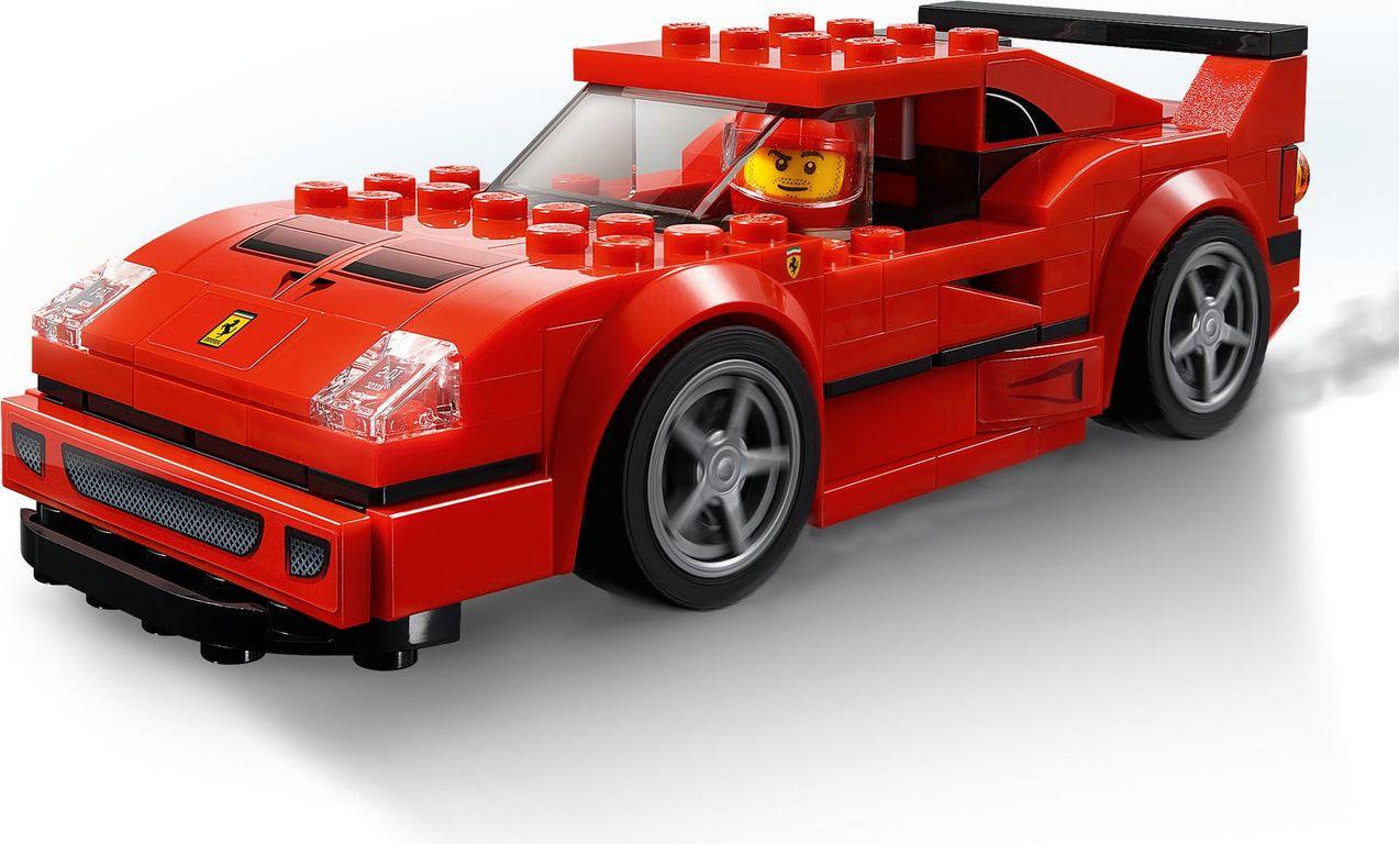LEGO® Speed Champions Ferrari F40 Competizione components