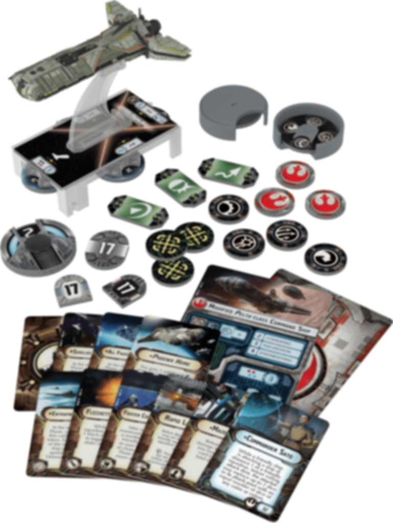 Star Wars: Armada - Phoenix Home Expansion Pack components