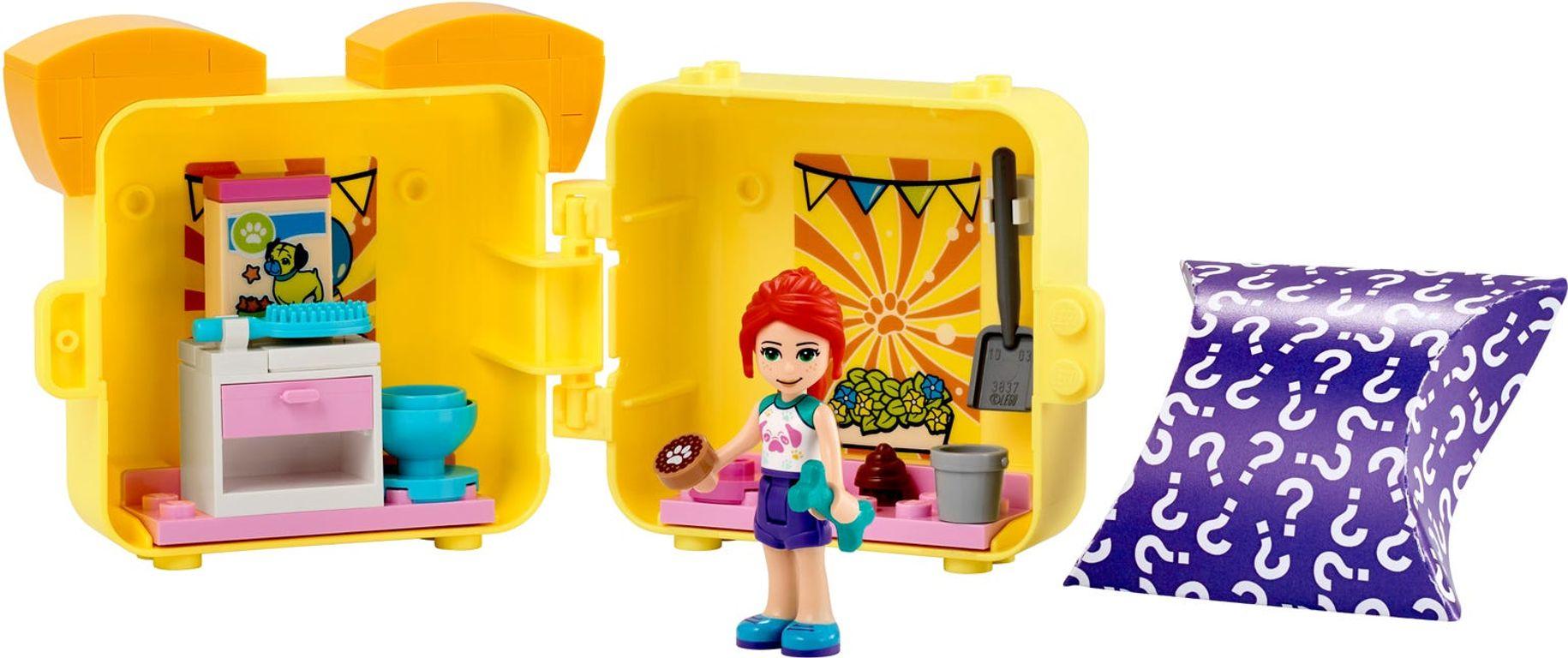 LEGO® Friends Mia's Pug Cube components