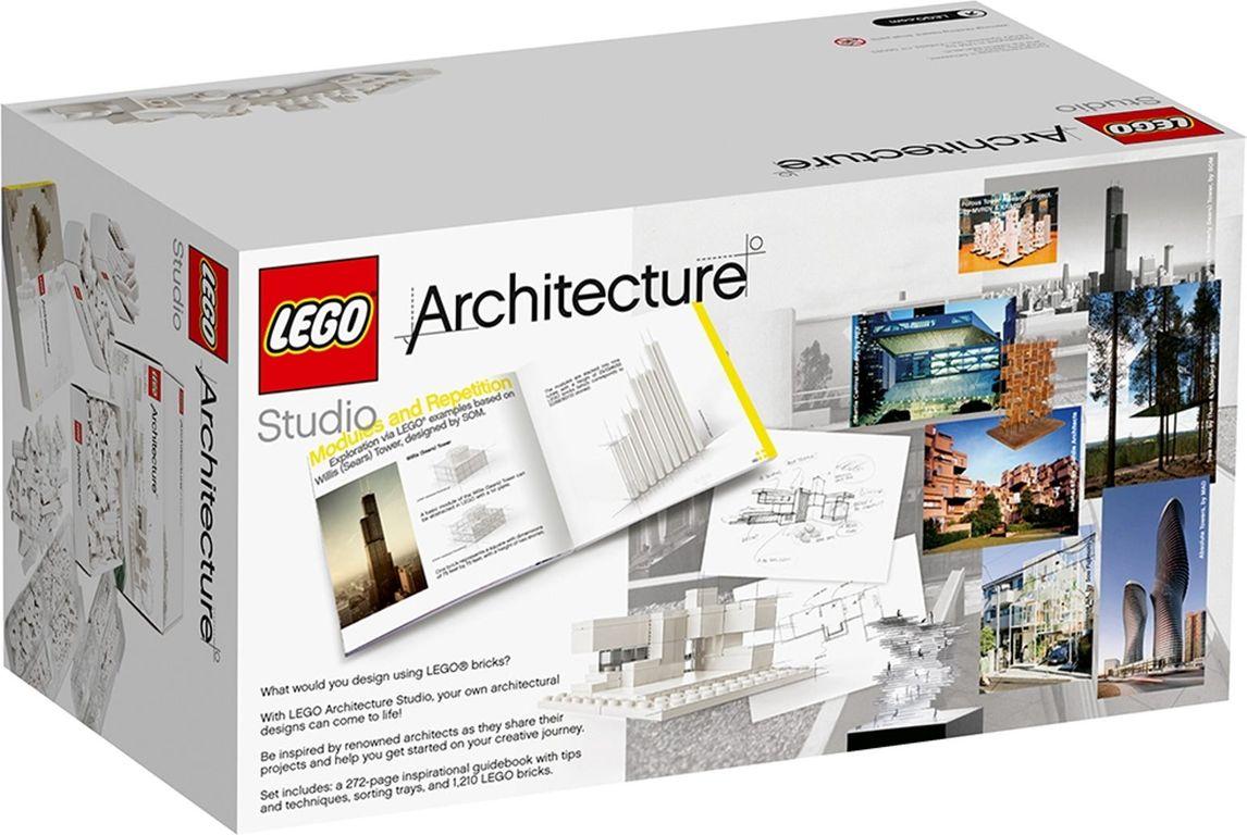 LEGO® Architecture Studio back of the box