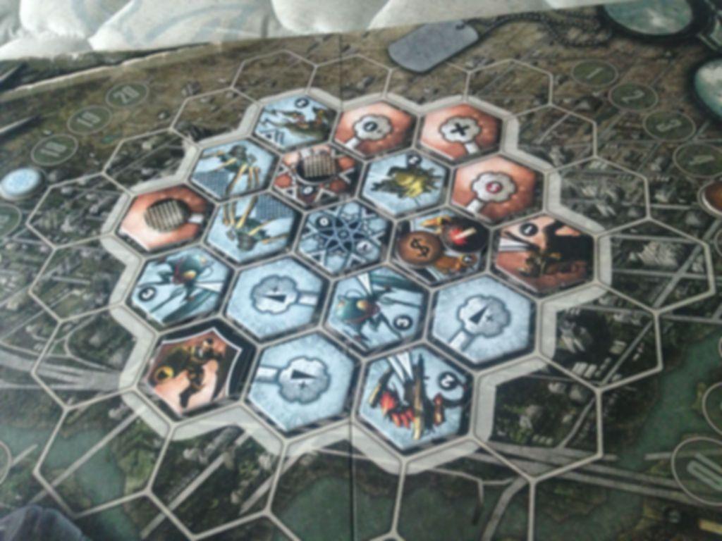 Neuroshima Hex! Vegas gameplay
