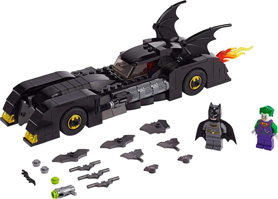 LEGO® DC Superheroes Batmobile™: Pursuit of The Joker™ components