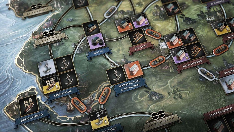 Brass: Lancashire gameplay