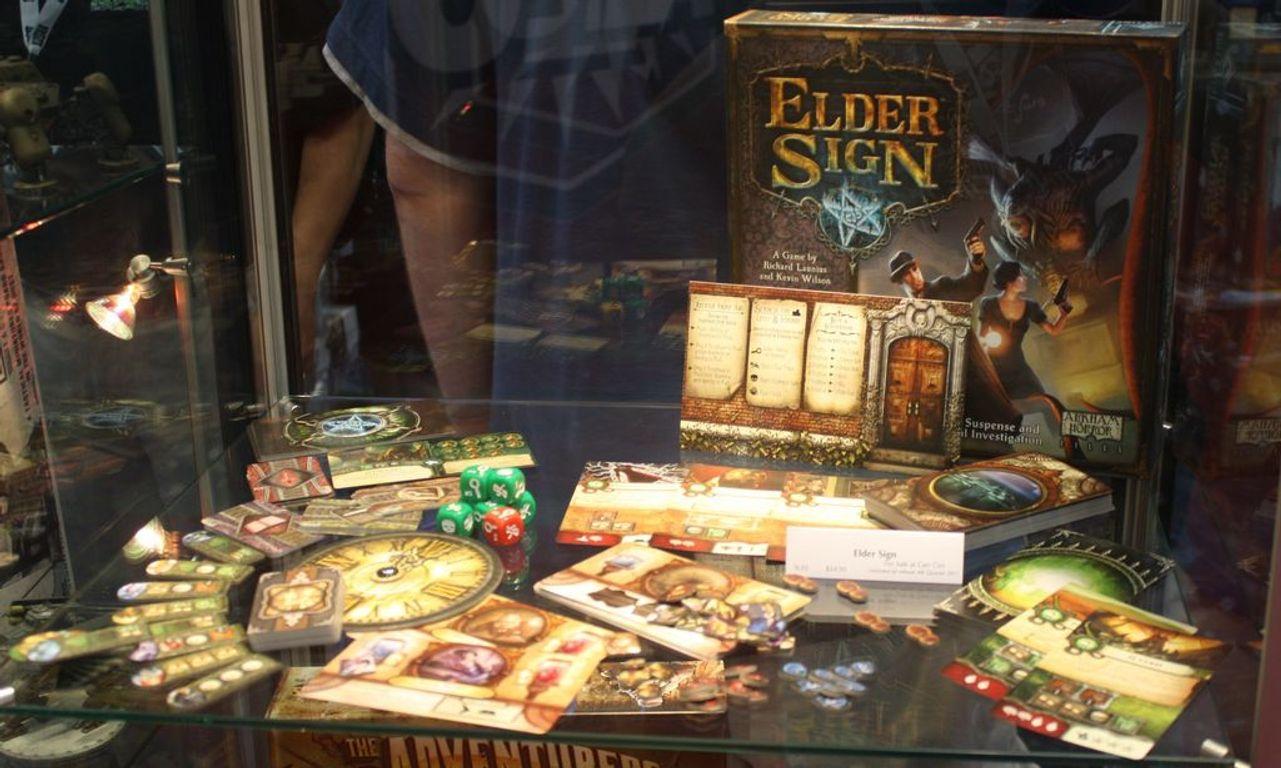 Elder Sign components