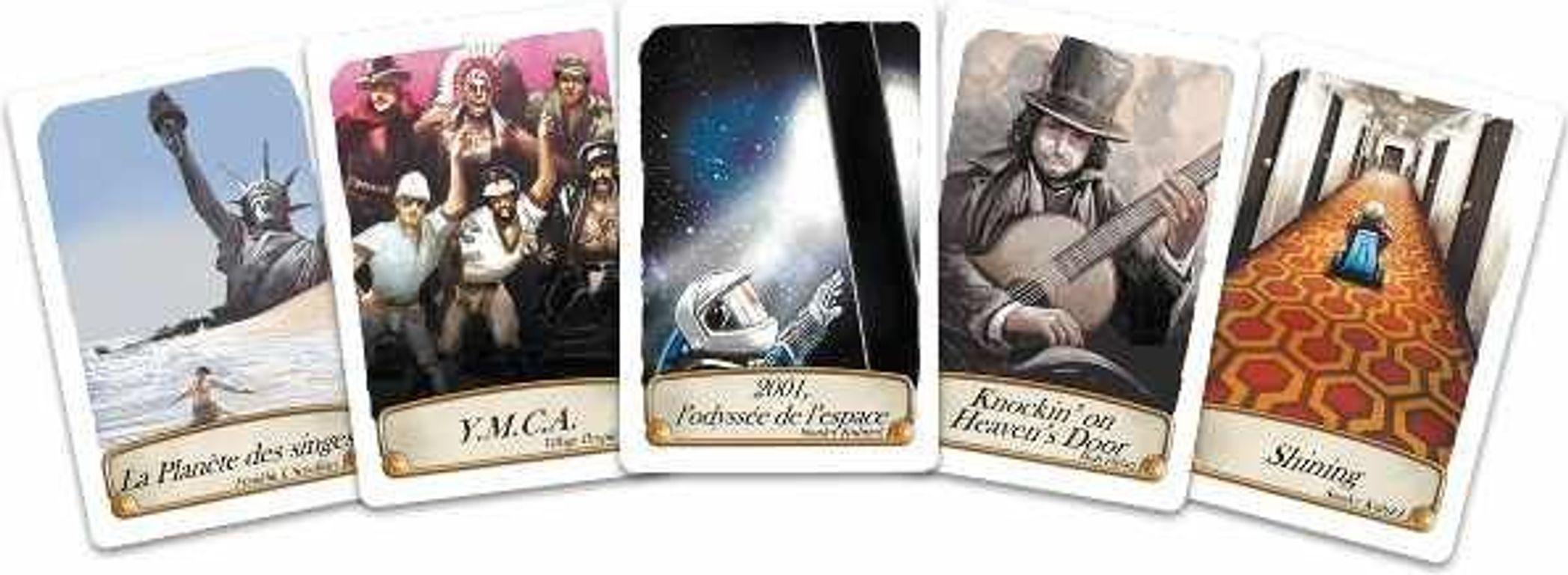 Timeline: Music & Cinema cards