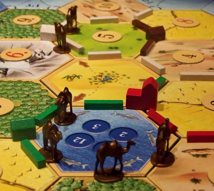 Catan: Traders & Barbarians gameplay