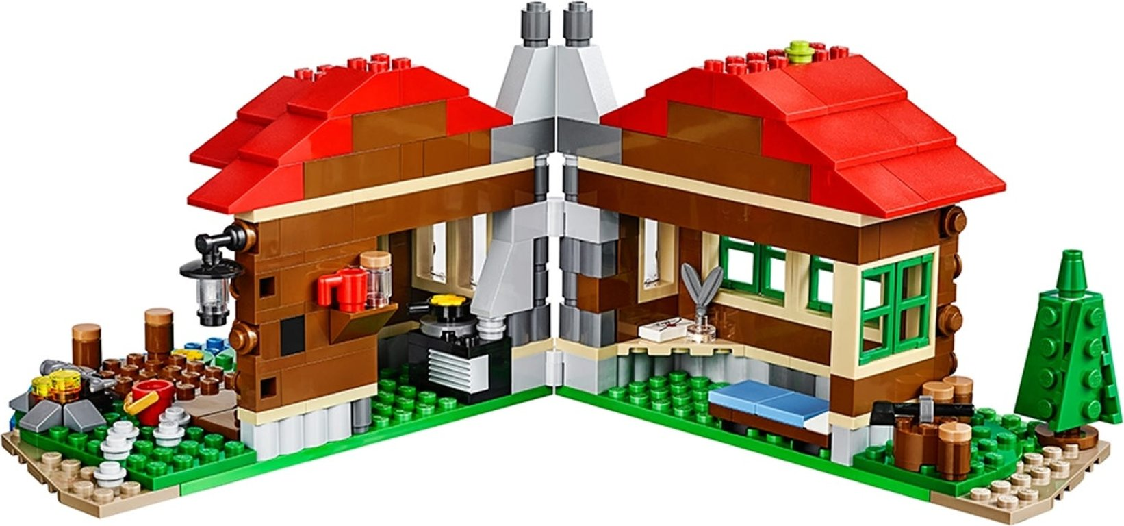 LEGO® Creator Lakeside Lodge interior
