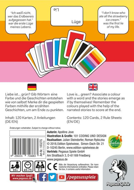 Farben back of the box