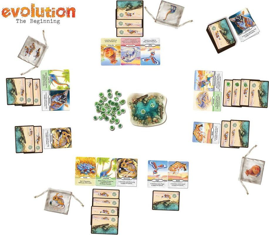 Evolution: The Beginning components