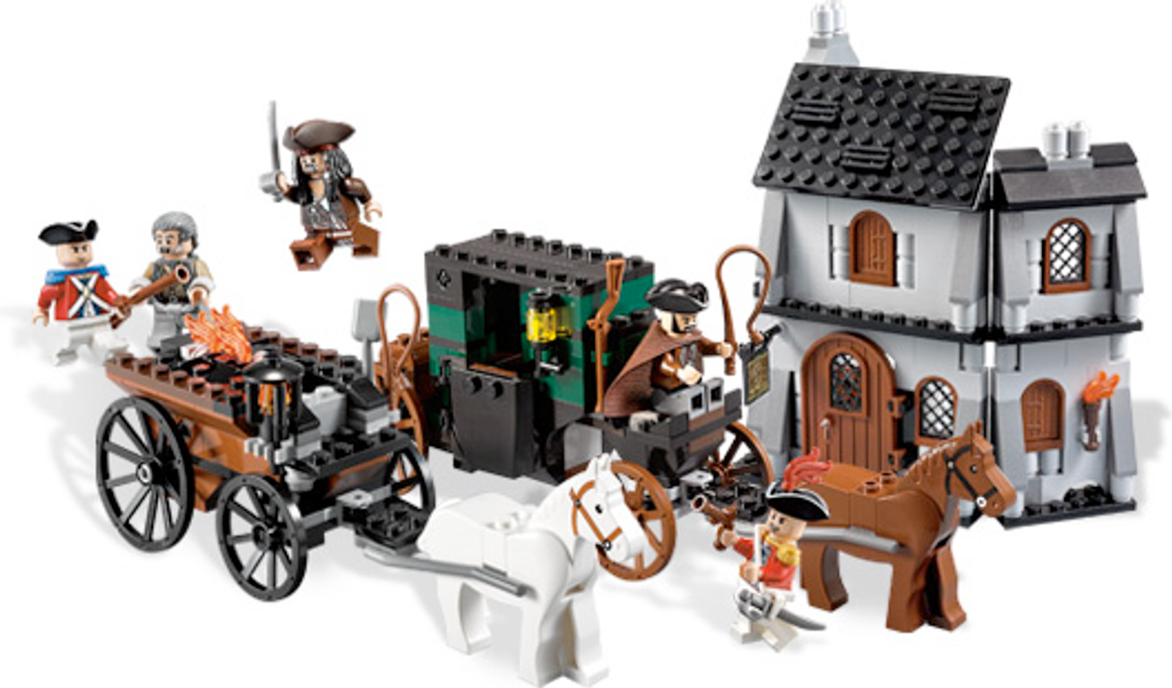 LEGO® Pirates of the Caribbean The London Escape gameplay