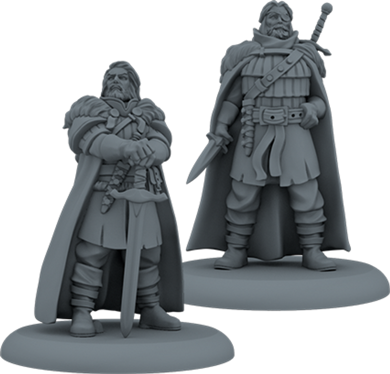 A Song of Ice & Fire: Tabletop Miniatures Game – Veterans of the Watch miniatures