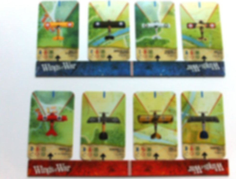 Wings of War: Famous Aces cards