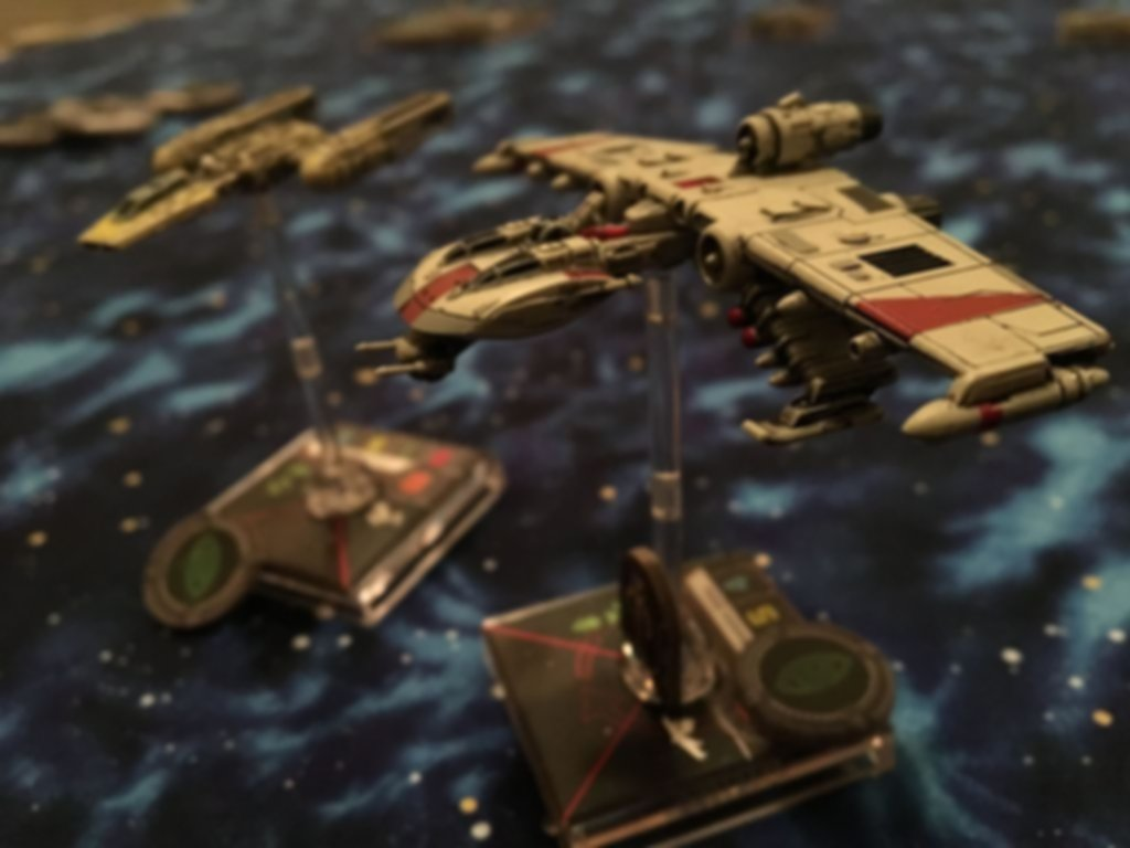 Star Wars: X-Wing Miniatures Game - K-wing Expansion Pack gameplay