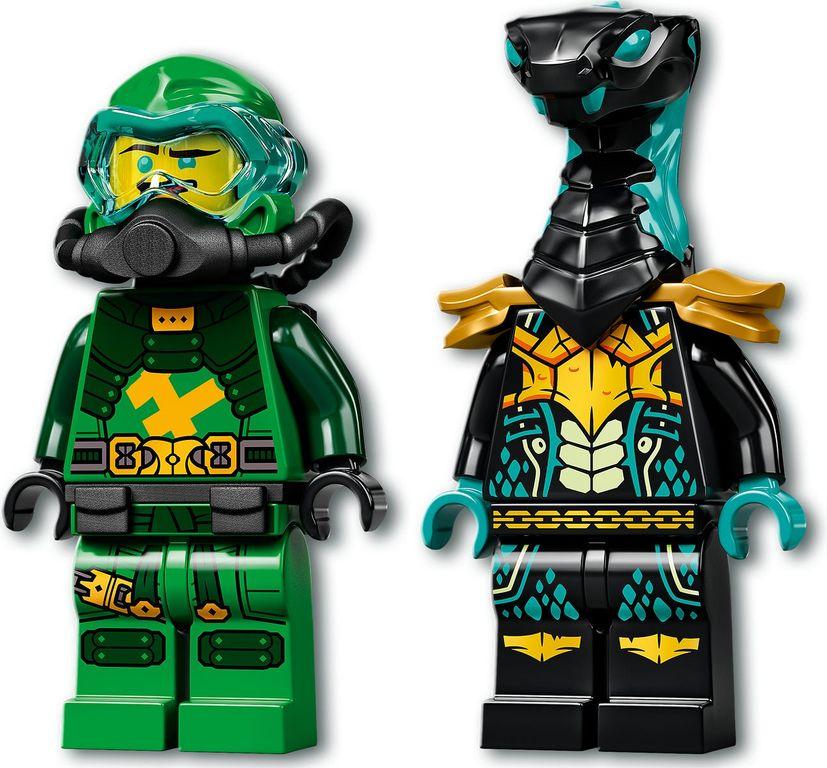 LEGO® Ninjago Lloyd's Hydro Mech minifigures