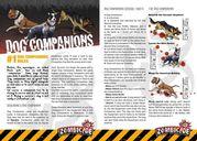 Zombicide Box of Dogs Set #6: Dog Companions manual