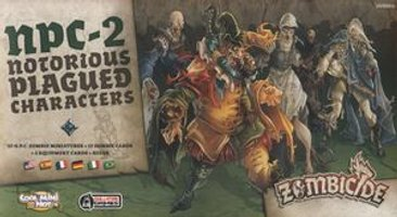 Zombicide: Black Plague - NPC-2