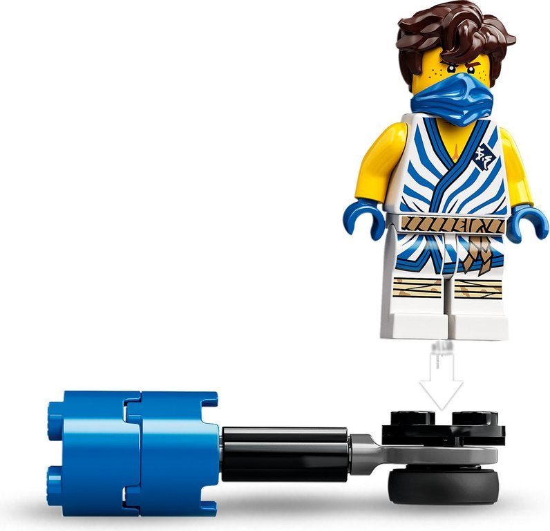 LEGO® Ninjago Epic Battle Set - Jay vs. Serpentine minifigures