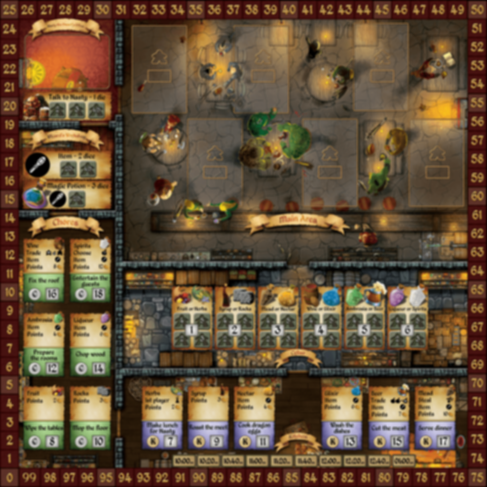 Cavern Tavern game board