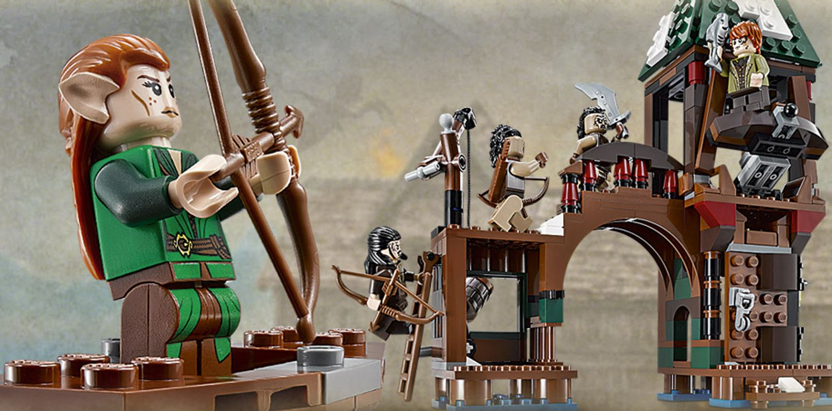 Attack on Sea Town minifigures