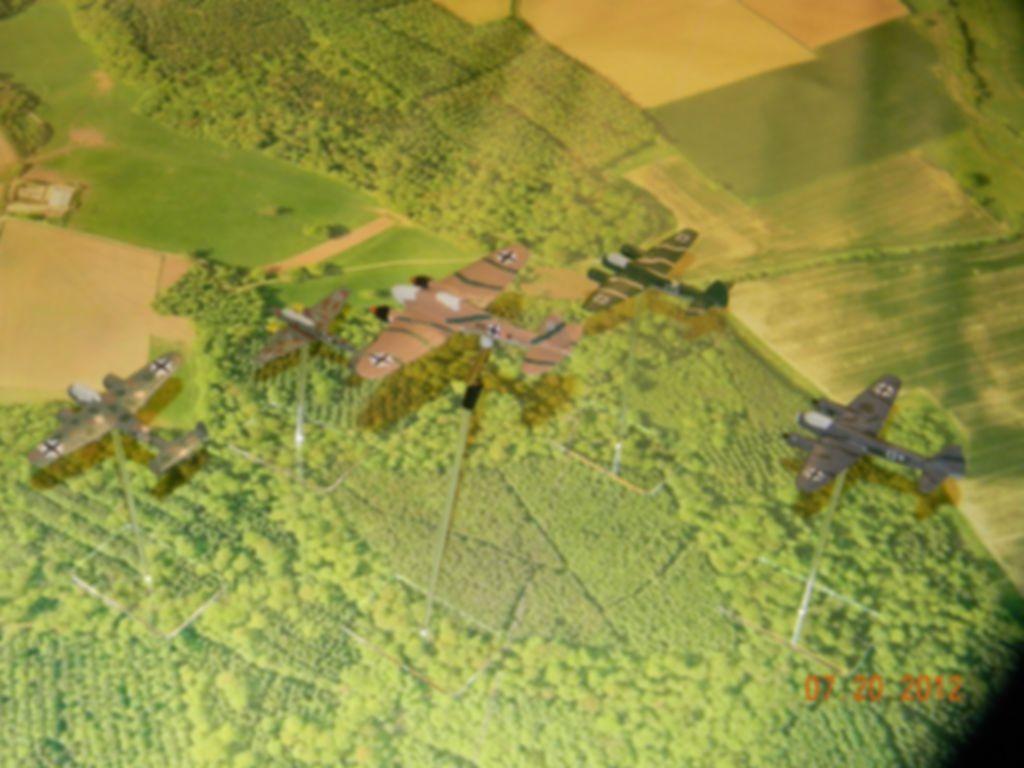 Wings of Glory: WW2 Starter Set game board