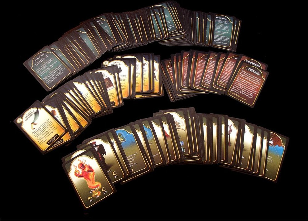 Tales of the Arabian Nights cards
