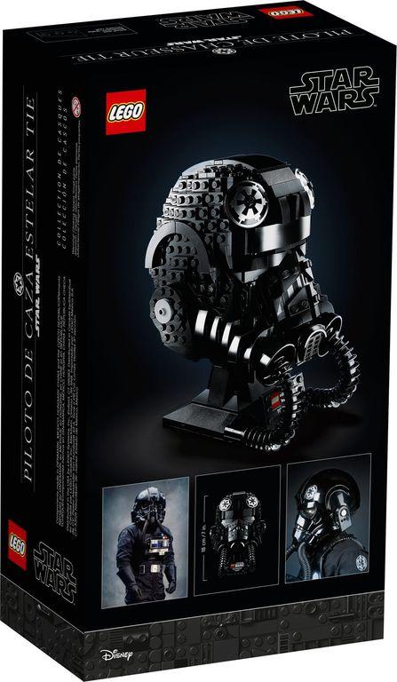 LEGO® Star Wars TIE Fighter Pilot™ Helmet back of the box