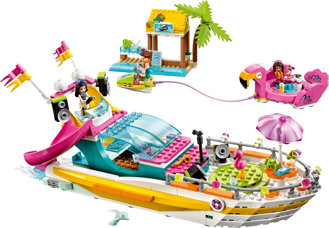 Party Boat components