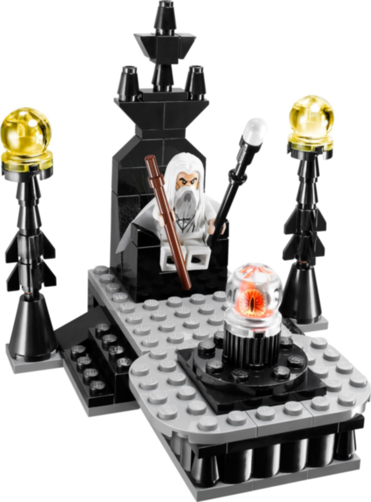 LEGO® The Lord of the Rings The Wizard Battle components