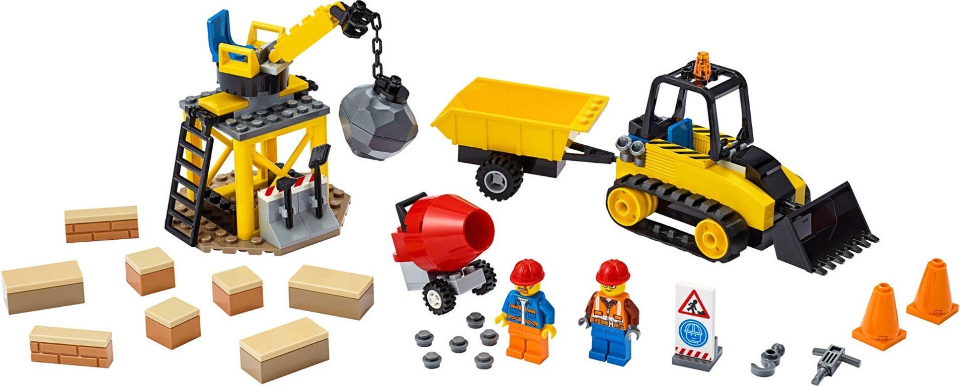 LEGO® City Construction Bulldozer components