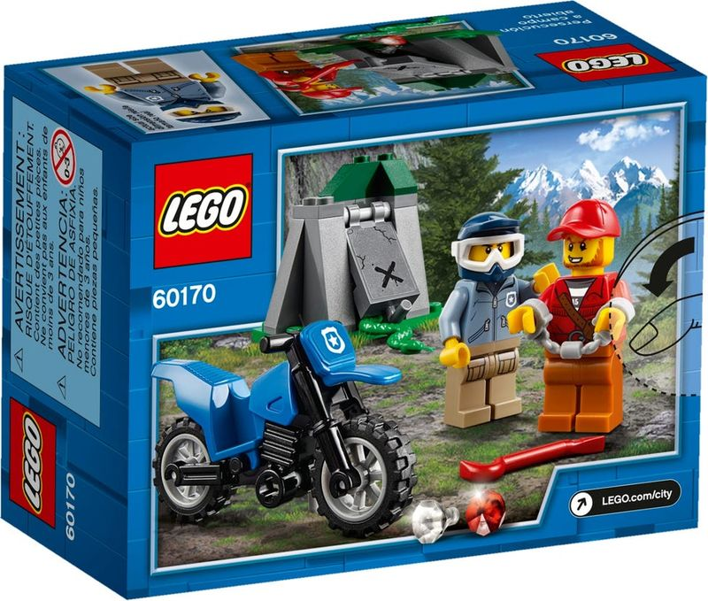 LEGO® City Off-Road Chase back of the box