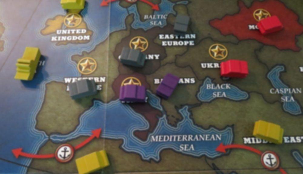 Quartermaster General gameplay