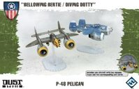 "Dust Tactics: Allies P-48 Pelican - ""Bellowing Bertie / Diving Dotty"""