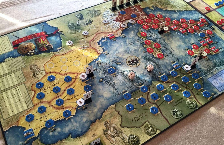 Hannibal: Rome vs. Carthage components