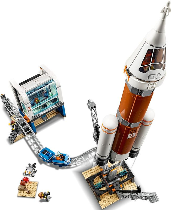 Deep Space Rocket and Launch Control components
