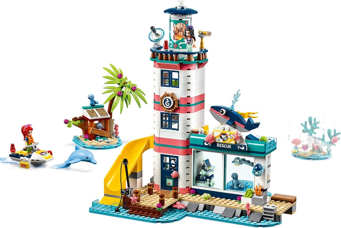 LEGO® Friends Lighthouse Rescue Center gameplay