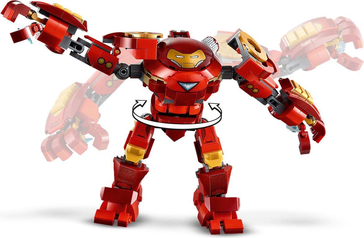 Iron Man Hulkbuster versus A.I.M. Agent components