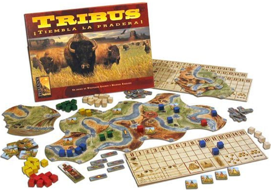 Bison: Thunder on the Prairie components