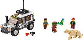 LEGO® City Safari Off-Roader components