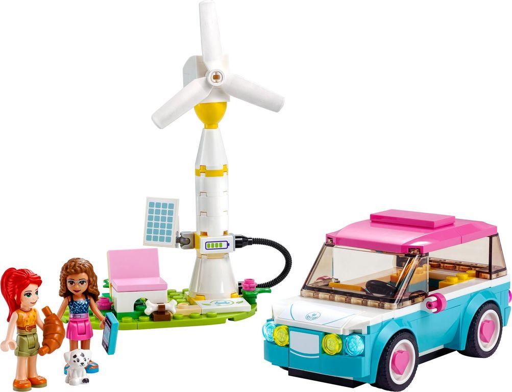 Olivia's Electric Car components