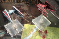 Star Wars: X-Wing Miniatures Game - Imperial Aces Expansion Pack miniatures