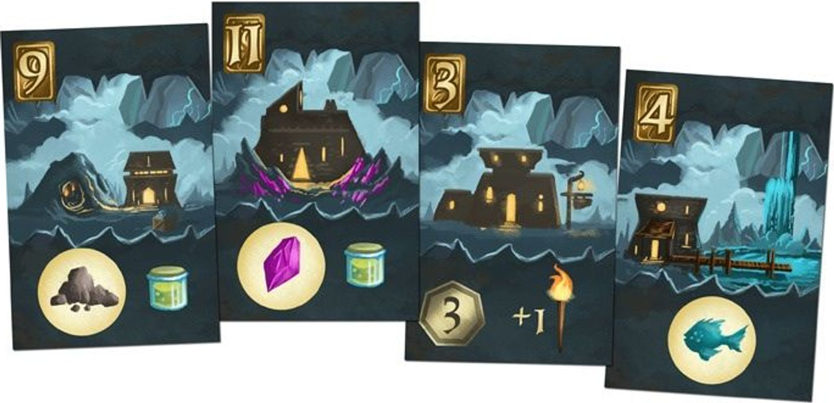 Above and Below cards