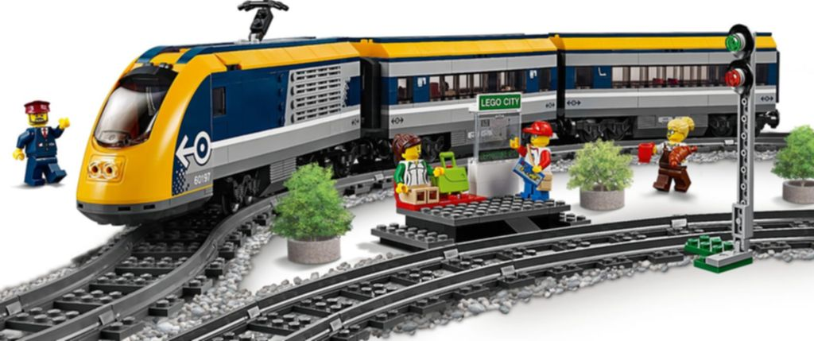 LEGO® City Passenger Train gameplay
