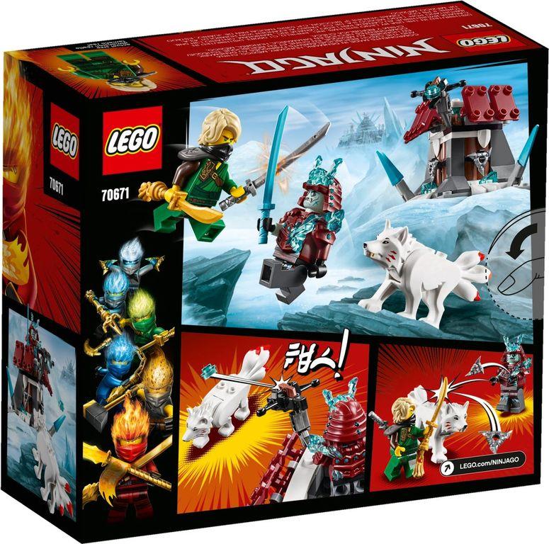 LEGO® Ninjago Lloyd's Journey back of the box