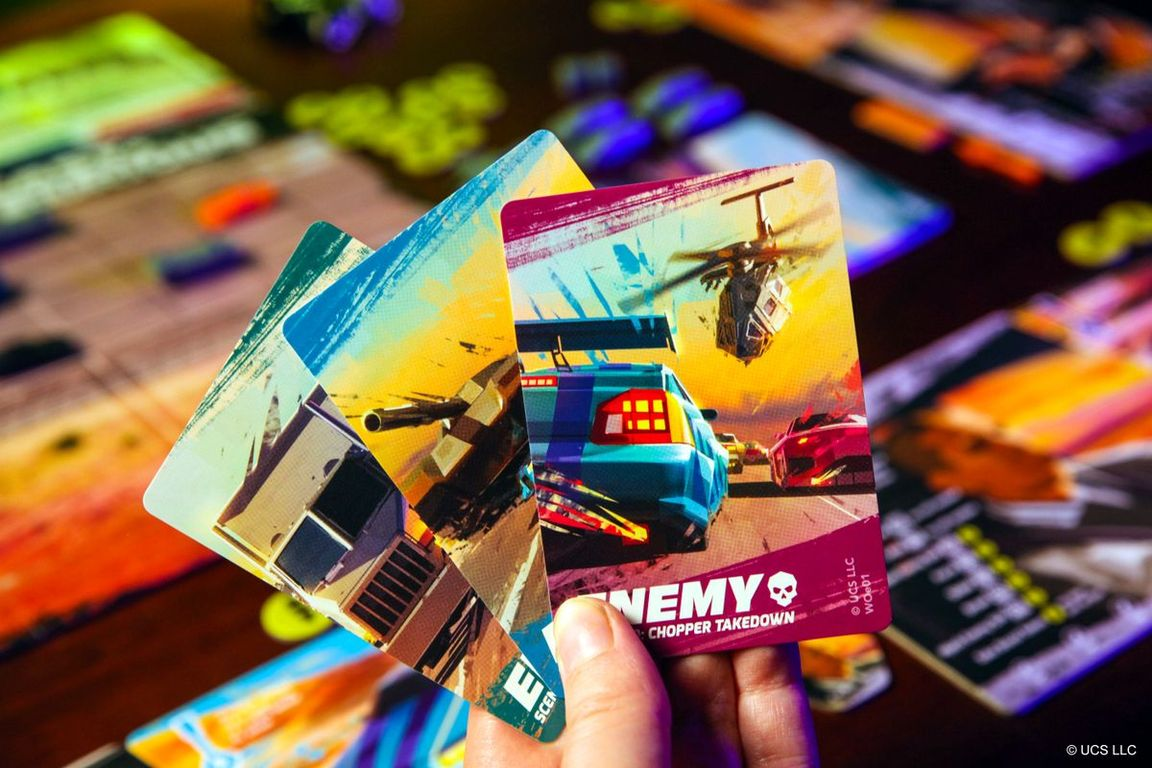 Fast & Furious: Highway Heist cards
