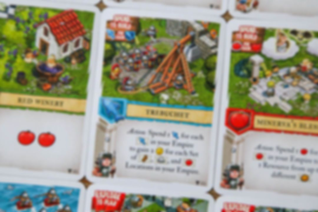 Imperial Settlers: Empires of the North - Roman Banners Trebuchet card
