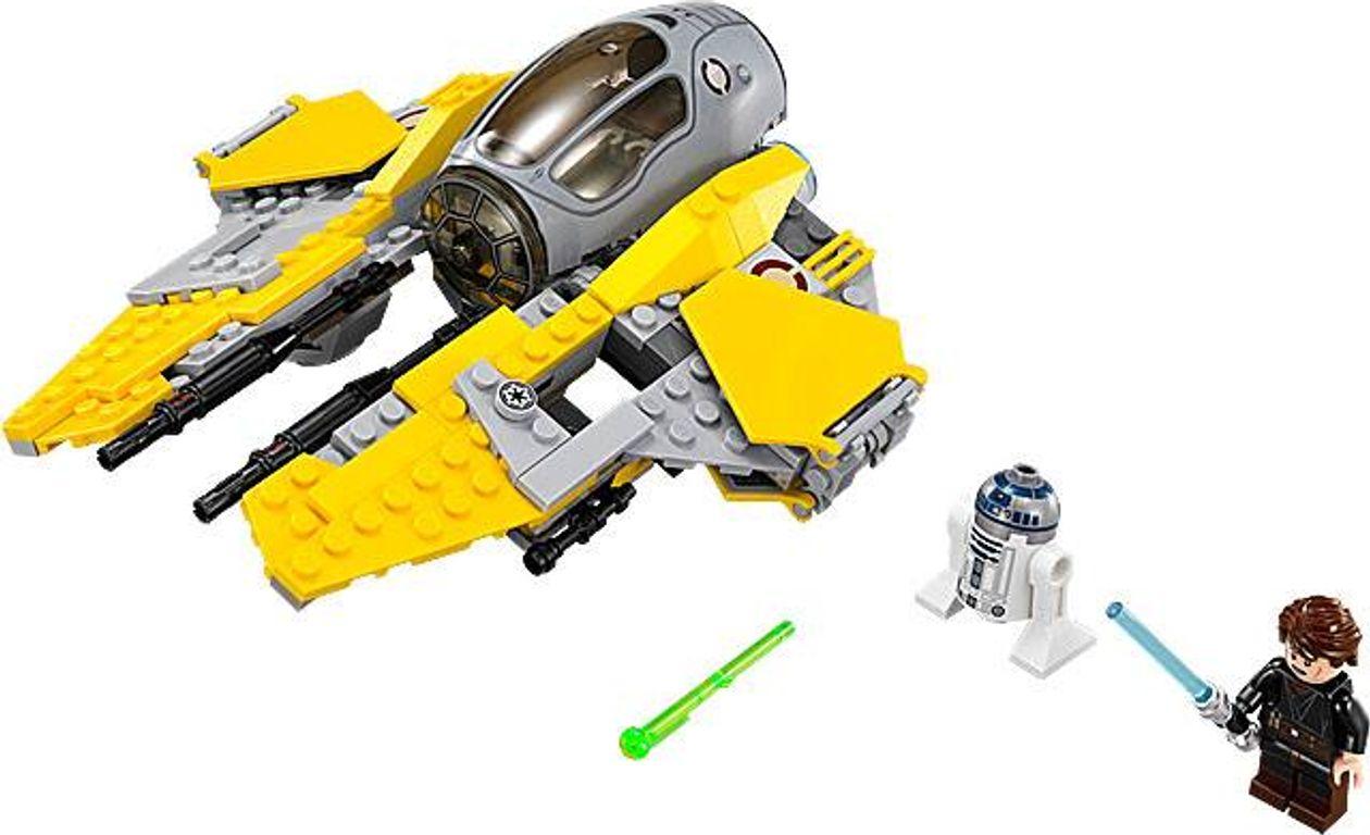 LEGO® Star Wars Jedi Interceptor components